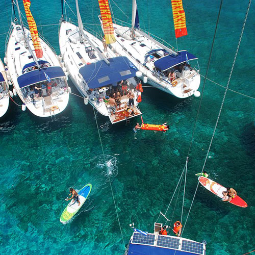 Aegean Party Life Summer 2017 Sailing